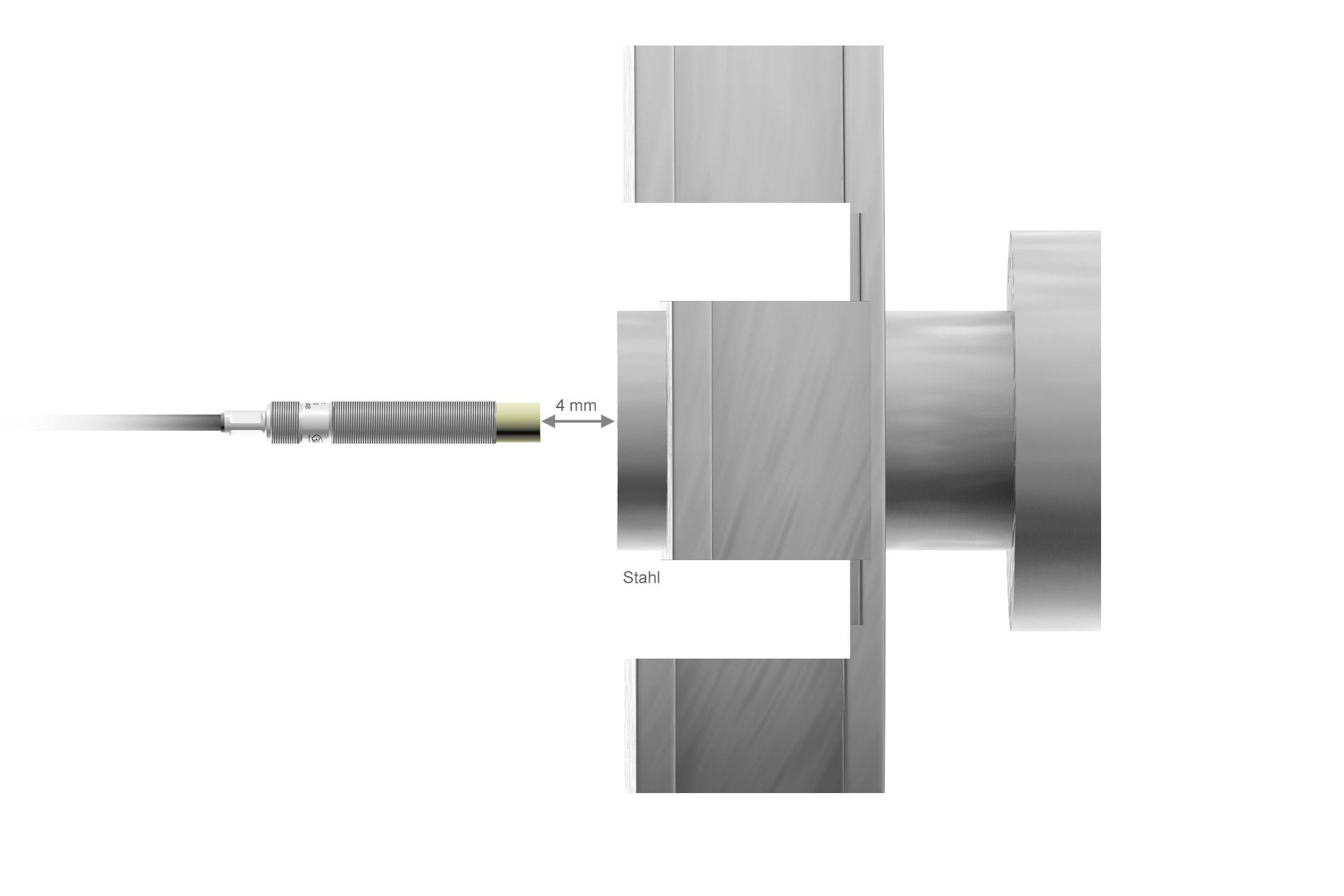 DT3001-U4-M-C3 Wirbelstrom-Wegsensor