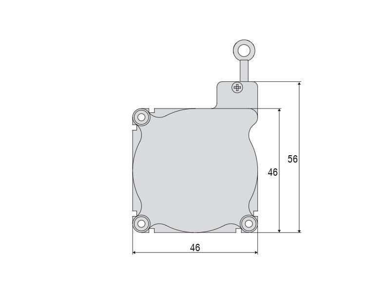 WPS-1250-MK46-CR-P10 Miniatur-Seilzug-Wegsensor