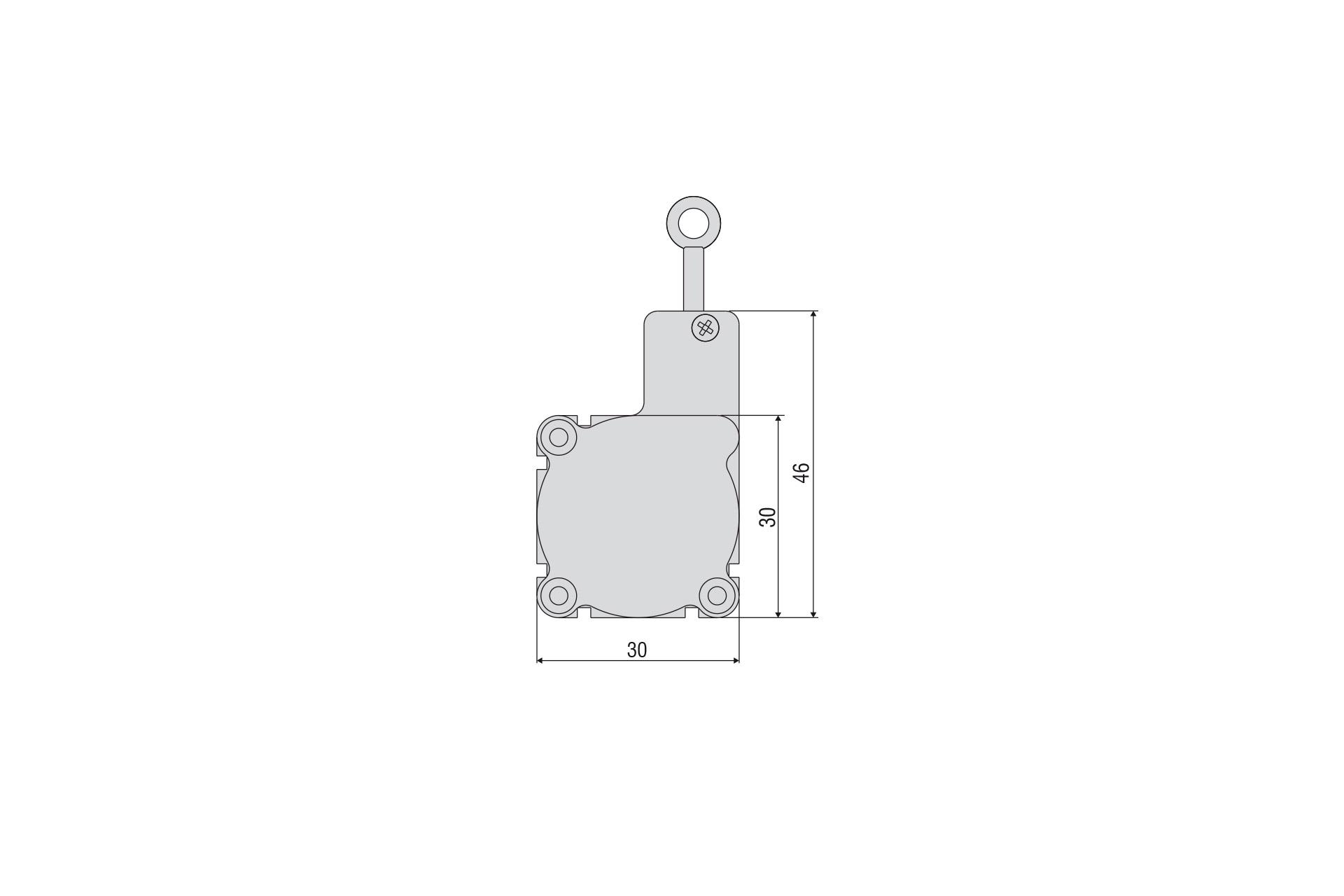 WPS-50-MK30-P50 Miniatur-Seilzug-Wegsensor