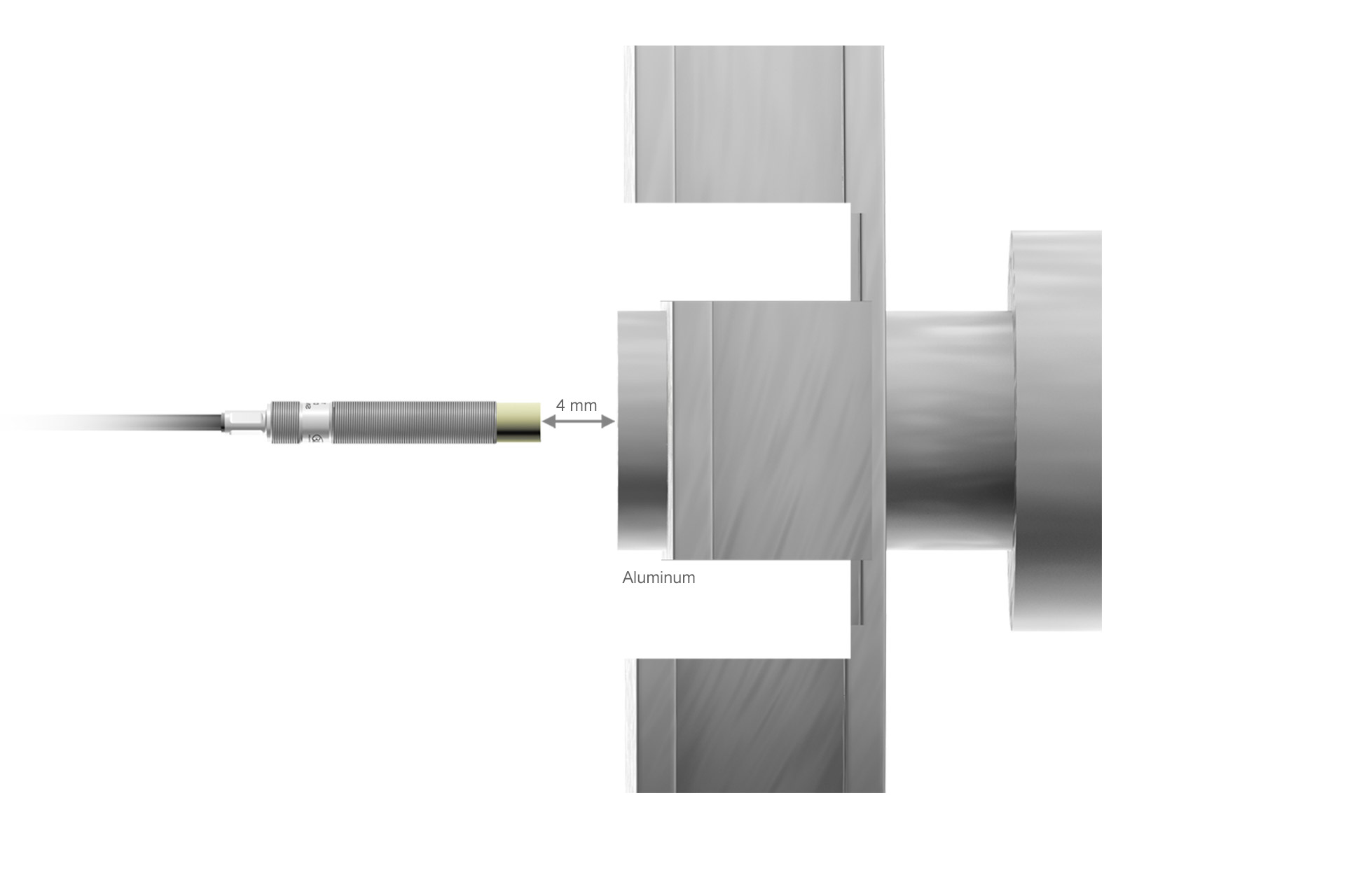 DT3001-U4-A-C3 Wirbelstrom-Wegsensor